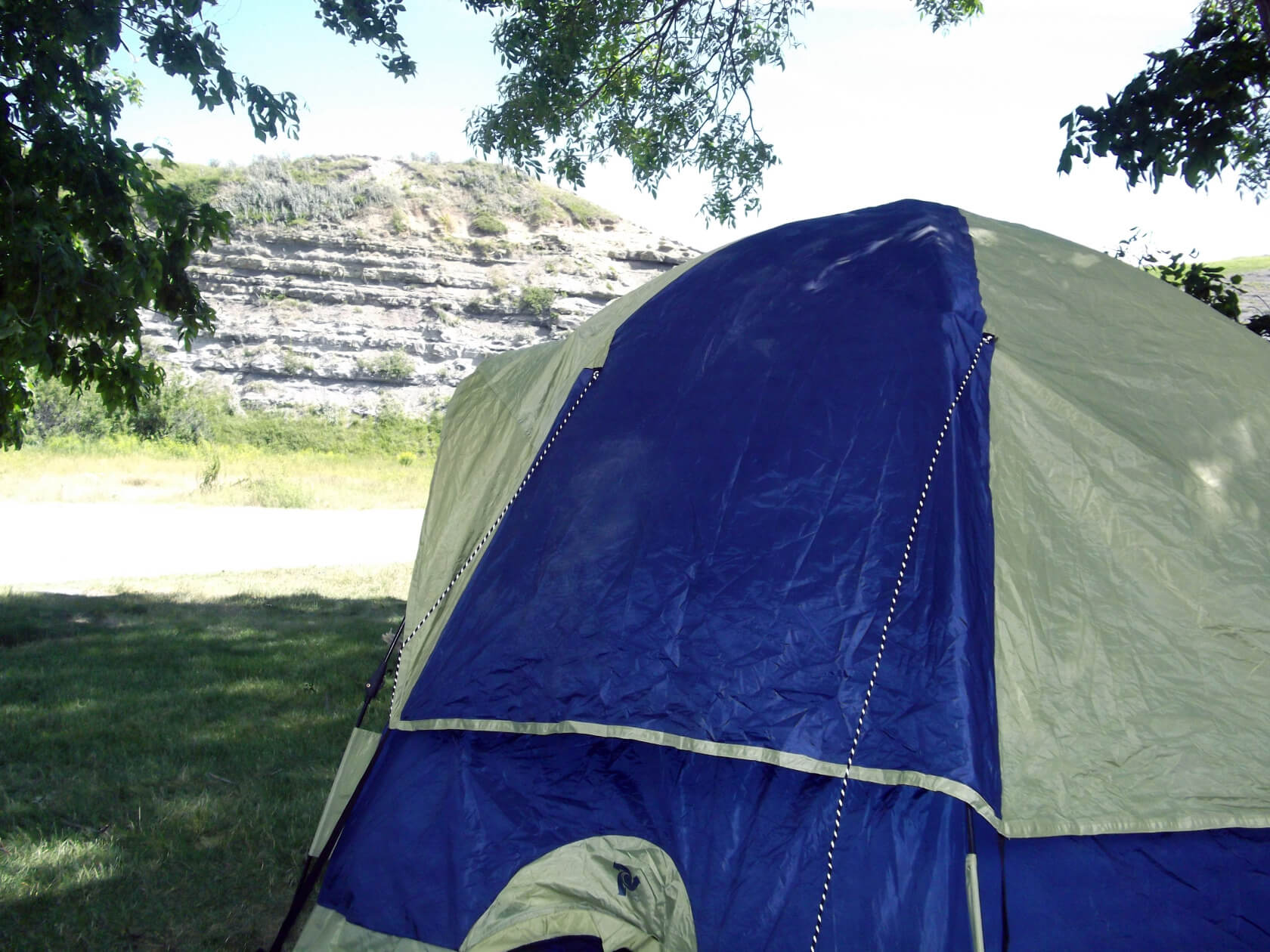 Camping at St. Mary's Reservoir