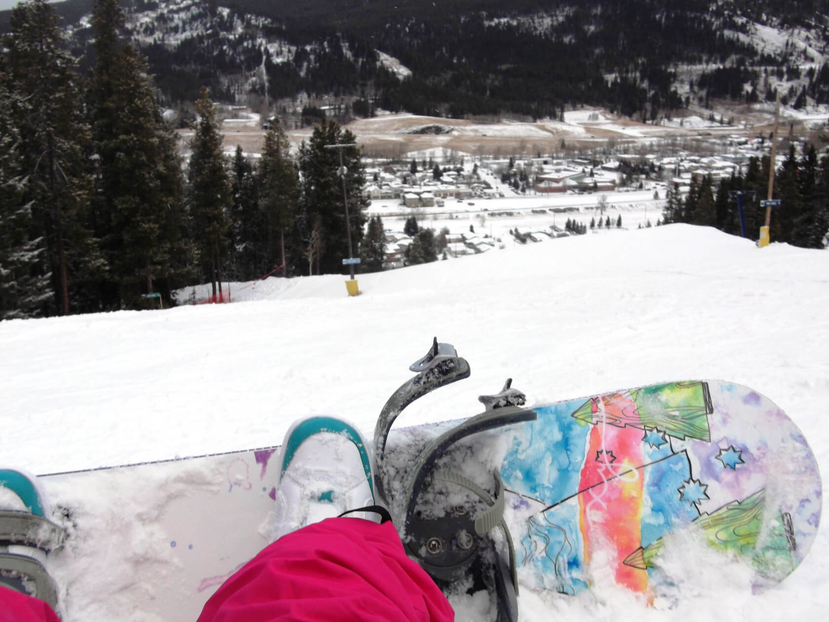 Snowboarding Makes My Toes Tingle