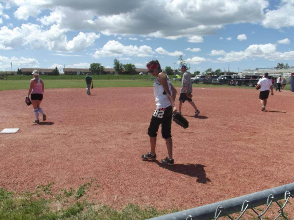 Softball Tournament in Coutts