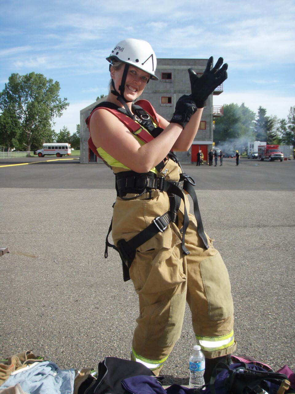 Fire Fighter for a Day