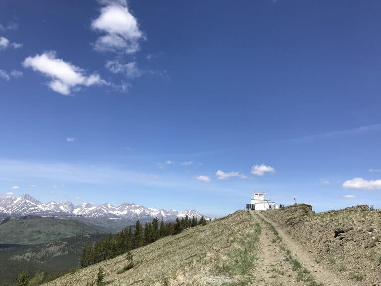 Hiking to Carbondale Fire Lookout in Castle Provincial Park