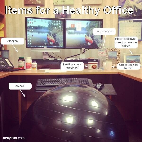 Items for a Healthier Office