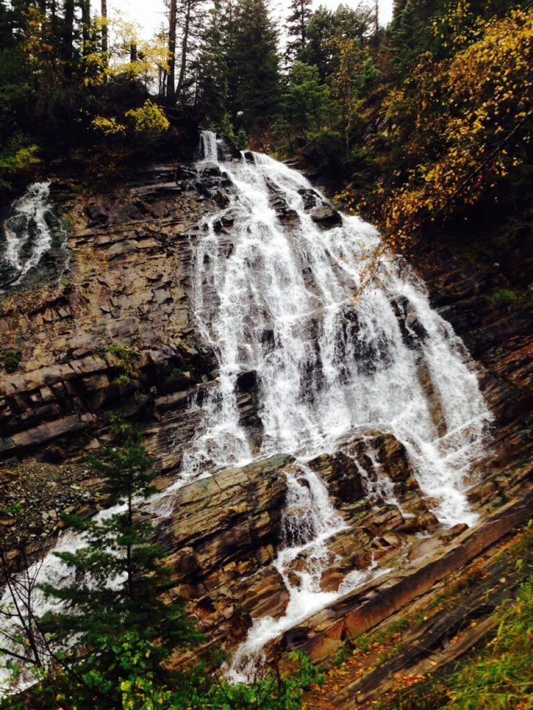 Fall Hike to Bertha Falls