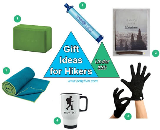 Under $30 Gifts for Hikers