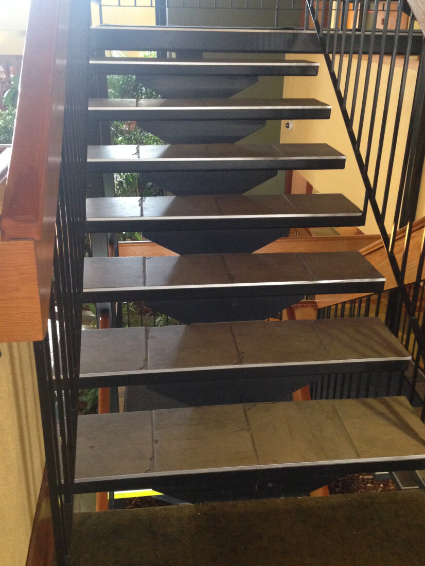 EVIL stairs!