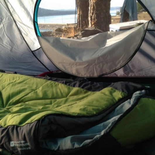 Gear Review-  Microlite 950 Sleeping Bag