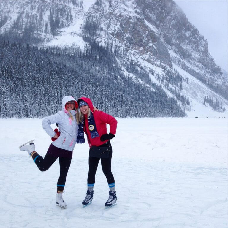 Winter Weekend in Canmore & Banff