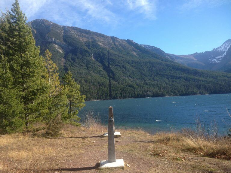 Warm Winter Hike From Waterton to Glacier