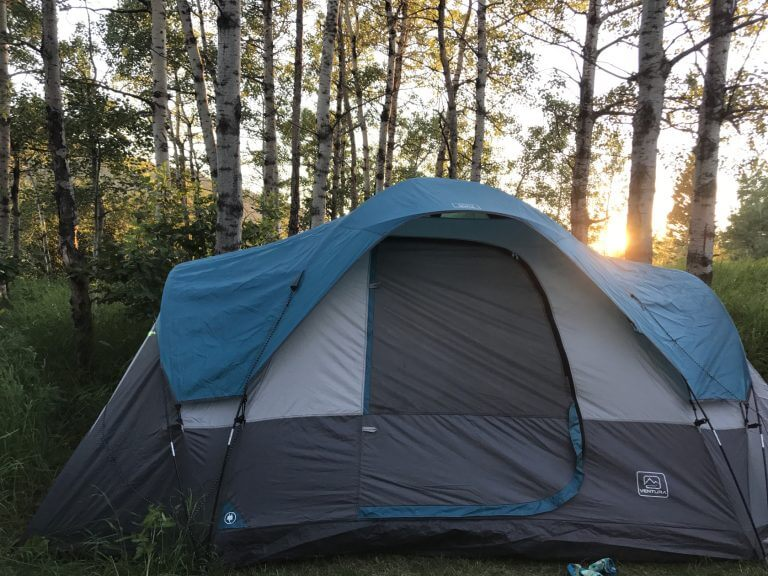 Tenting at Beauvais Lake