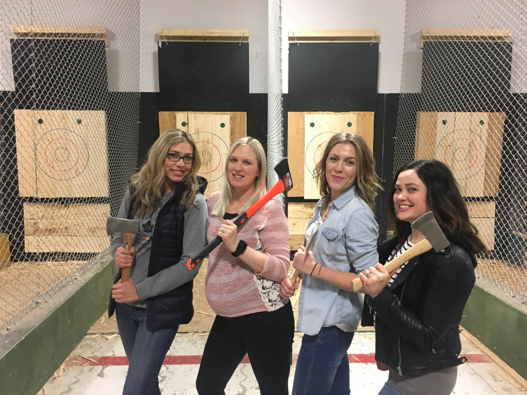 Girls Night- Dinner & Axe Throwing