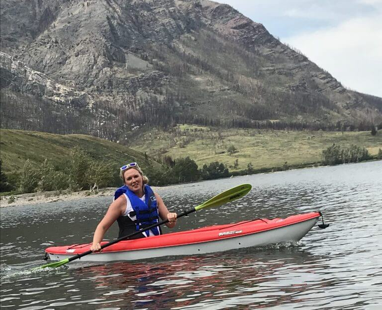 Kayaking Fun in Waterton