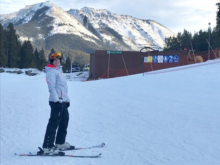 Learning to ski at Pass Powderkeg- Lesson 2/4 Recap