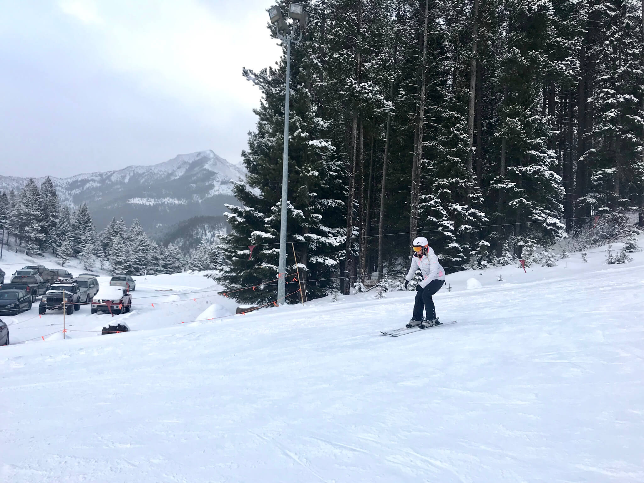 Learning to ski at Pass PowderKeg- Lesson 1/4 Recap