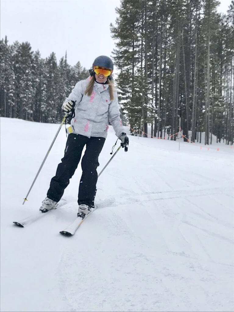 Learning to Ski at Pass Powderkeg- Final Lesson Recap