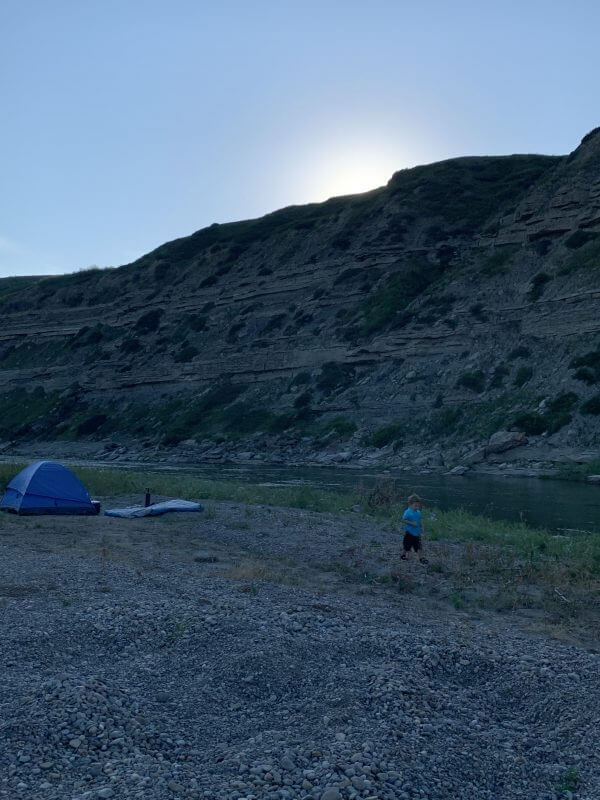 7 Tips For Camping with Baby