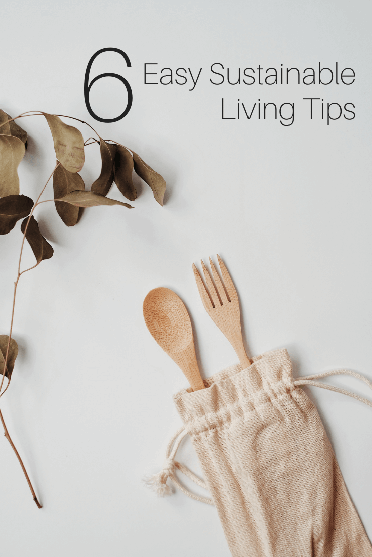 6 Easy Sustainable Living Tips