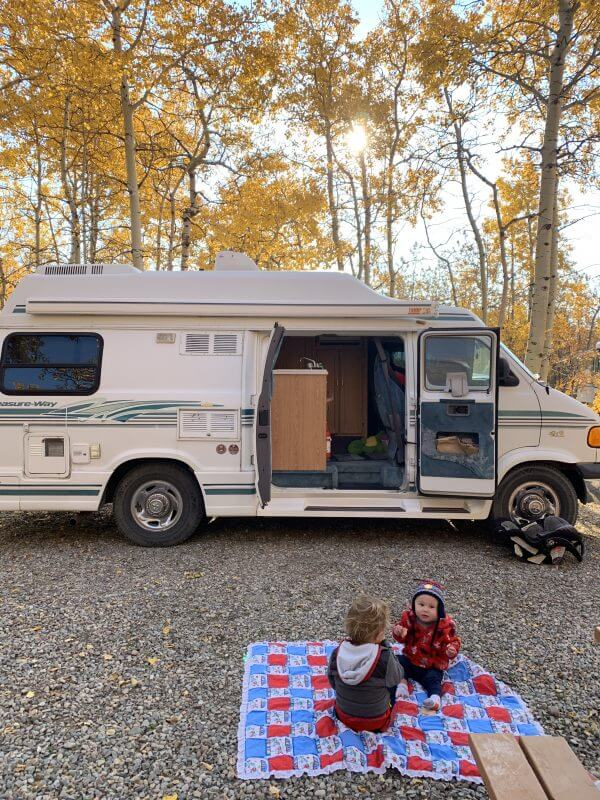 Fall Camping at Police Outpost Provincial Park
