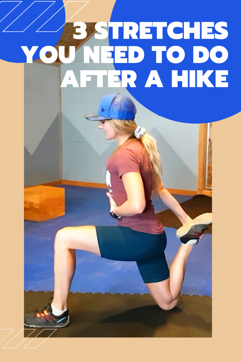 Guest Post: 3 Stretches you NEED to do after a hike